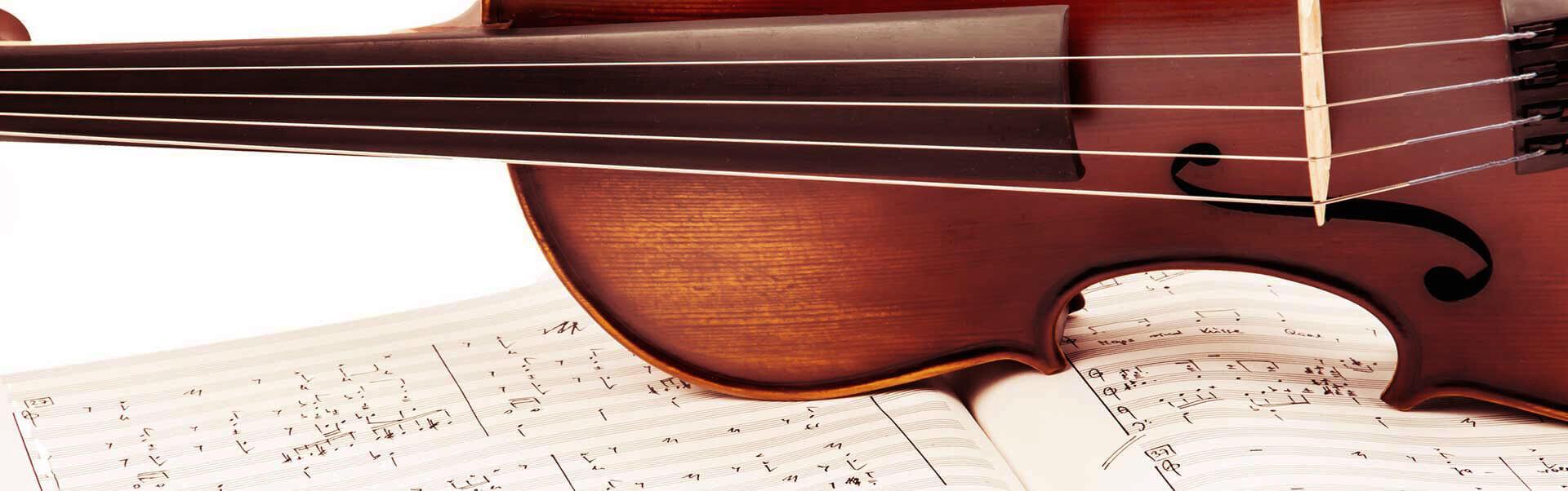 Musikschule Header Bild